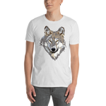 Discovering Heart - Wolf Portrait Unisex Shirt - Discovering Heart