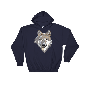 Discovering Heart - Wolf Portrait Sweatshirt - Discovering Heart