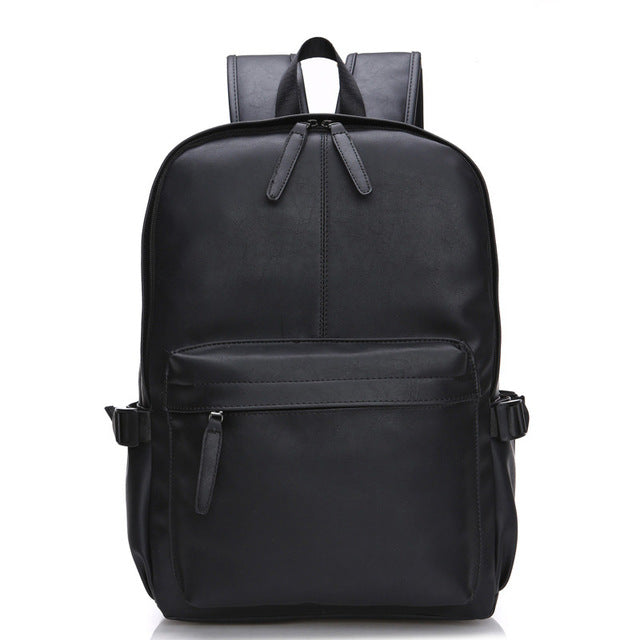 Wax Leather Backpack - Discovering Heart