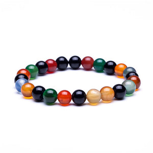 Natural Stone Bracelet - Discovering Heart