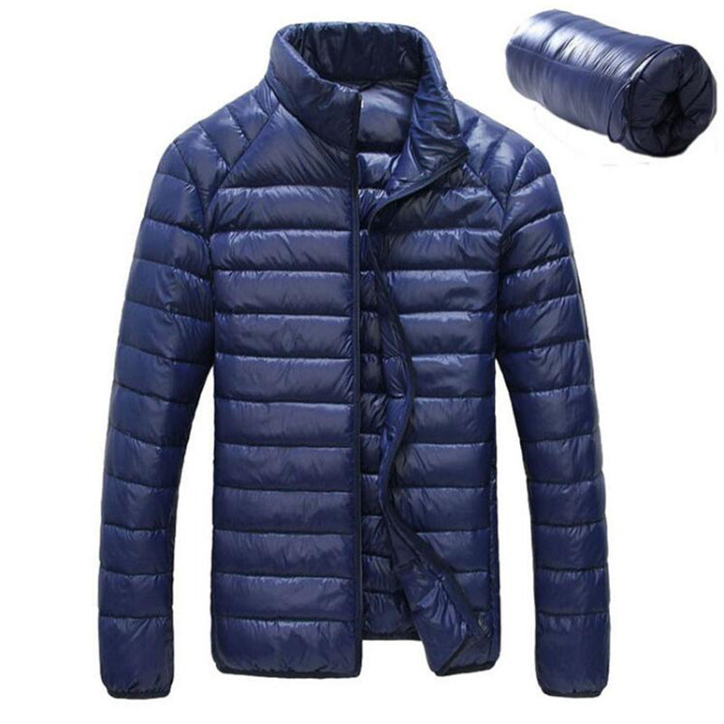 Waterproof Lightweight Ultra Light Duck Down Jacket Men - Discovering Heart