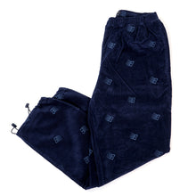 Allover Embroidered Pant (Navy)
