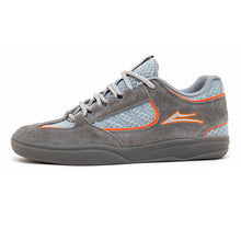 Carroll (Grey / Orange Suede)