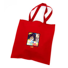Memo Book Tote Bag (Red)