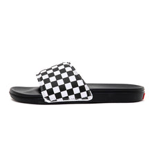 La Costa Slide-On (Checkerboard) True White / Black VBU