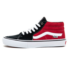Skate Grosso Mid (Black / Red) VBU