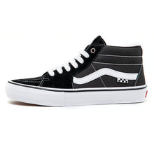 Skate Grosso Mid (Black / White / Emo Leather) VBU