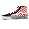 Skate Sk8-Hi Reissue Grosso '84 (Black / Red Check) VBU