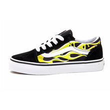 Youth Old Skool (Slime Flame) Black / True White VBU