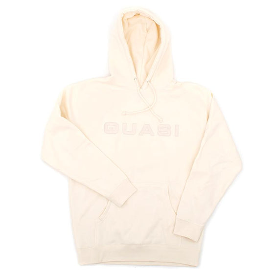 Euro Hooded Sweatshirt (Creme)