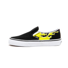 Youth Classic Slip-On (Slime Flame) Black / True White VBU