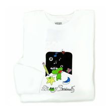 Vans x Frog Long Sleeve T-Shirt (Frog White) VBU