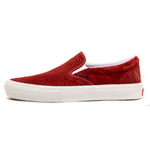 Skate Slip-On (Nj) Brick / White VBU