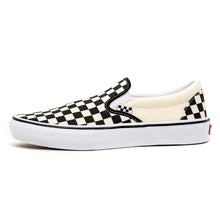 Skate Slip-On (Checkerboard) Black / Off White