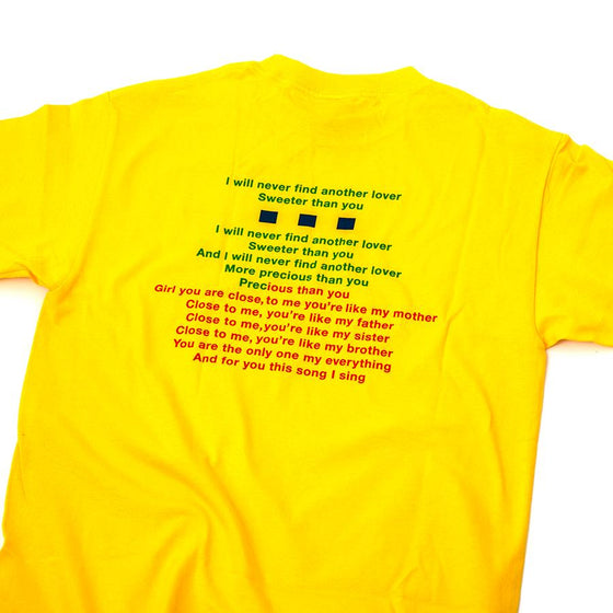 Karaoke T-Shirt (Yellow)