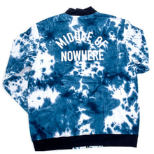 Middle Of Nowhere Coaches Jacket (Blue Tie Dye)