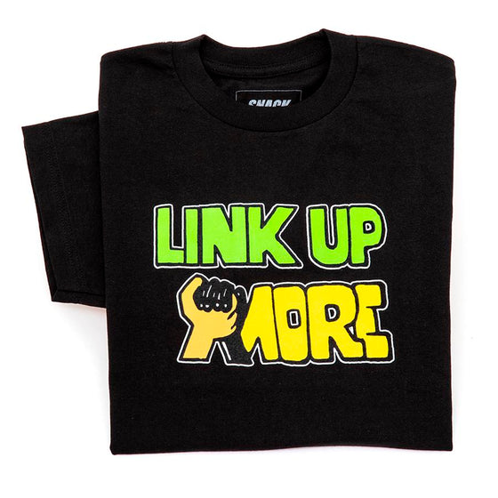 Link Up More T-Shirt (Black)