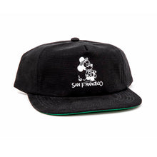Seein the Sights Strapback Hat (Black)