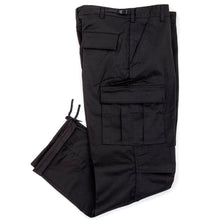 Relaxed Fit Zipper Fly BDU Pant (Black)