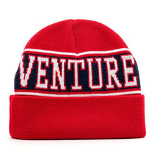 Horizon Cuff Beanie (Red)