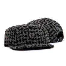 HoundsTooth Polo Crest 5-Panel (Black)