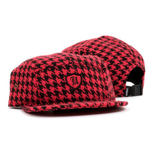 HoundsTooth Polo Crest 5-Panel (Red)