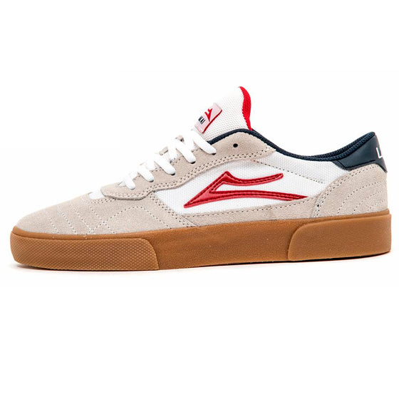 Cambridge (White / Gum Suede) (S)