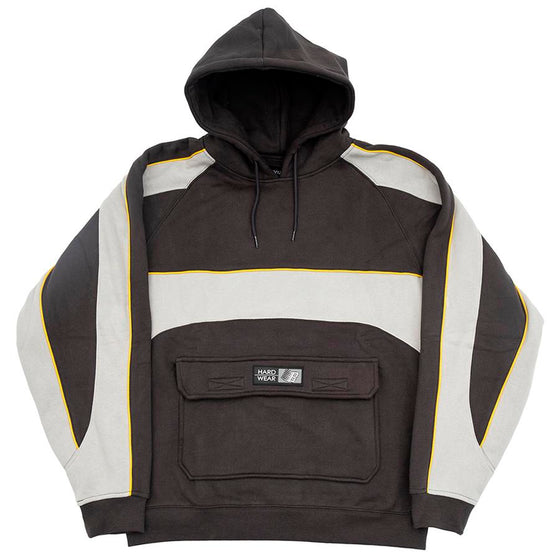 Piping Hoody (Dark Grey)
