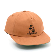Seein The Sights Strapback Hat (Rust)