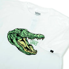 Micro Dazed Croc T-Shirt (White) VBU