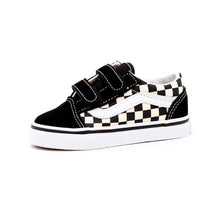 Toddler Old Skool V (Primary Check) Black / White VBU