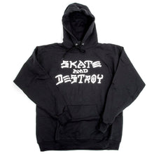 Skate and Destroy Hoodie - Black
