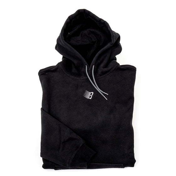 Embroidered B Hoodie (Black)
