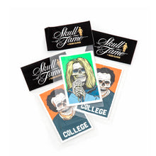 Skull Of Fame Sticker Pack
