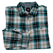 Sycamore Flannel Shirt (Heather Grey / Jade) VBU