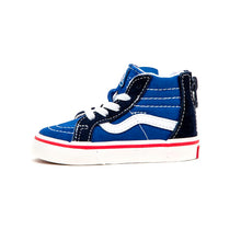 Toddler Sk8-Hi Zip (Retro Sport) Limoges / Parisian Night VBU
