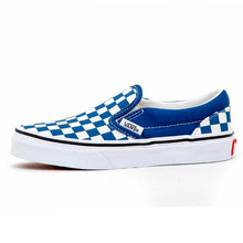 Youth Classic Slip-On (Checkerboard) Limoges / True White VBU
