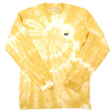 Off The Wall Classic Tie Dye Long Sleeve T-Shirt (Cress Green) VBU