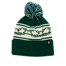 Inter Solid Pom Pom Beanie (Forest)