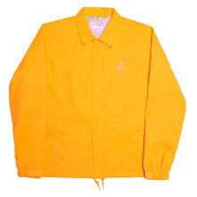 Finesse Coaches Jacket (Orange)