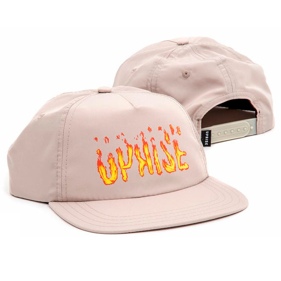 Loop Of Fire Unstructured Snapback (Stone)