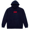 Block Hooded Sweatshirt (Navy)