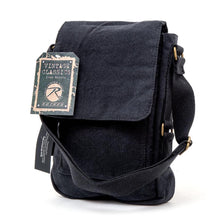 Vintage Canvas Military Tech Bag (Black)