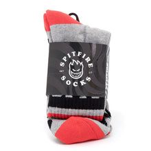 OG Classic Sock (Heather / Black / Red)