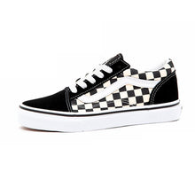 Youth Old Skool (Primary Check) Black / True White VBU