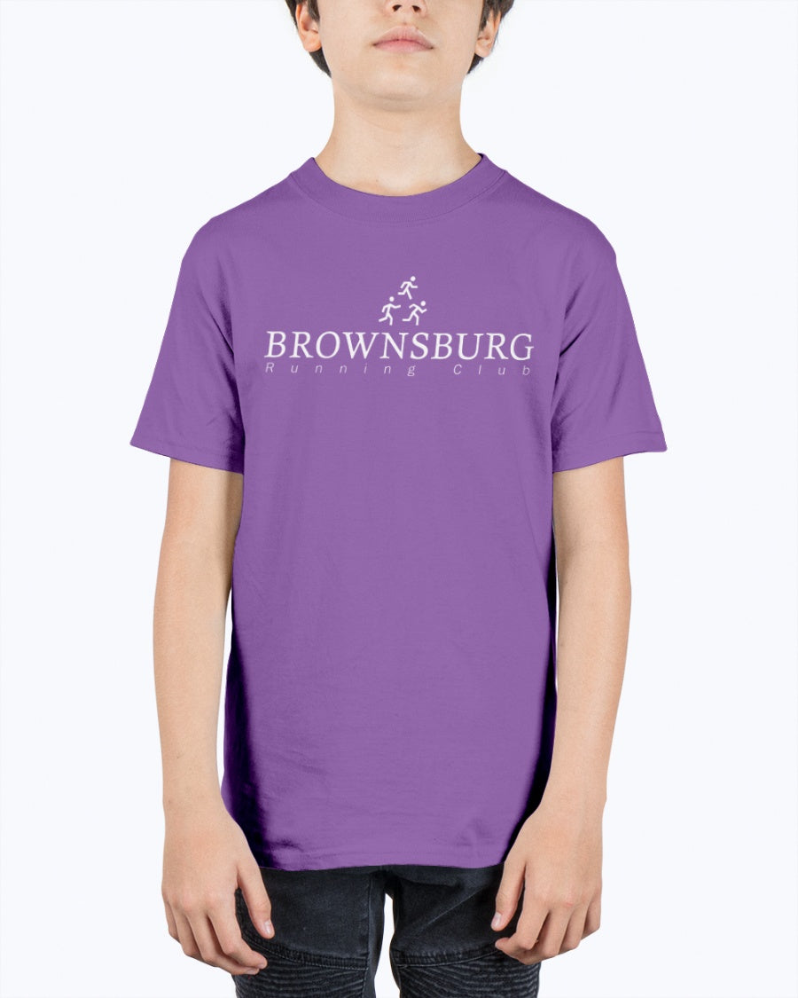 Brownsburg Running Club Double Sided YOUTH Tee #00006
