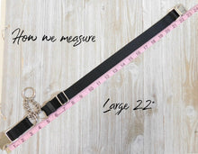 Nylon Chain Martingale with Personalized Buckle, Available in over 25 colors