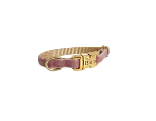 Dainty Velvet Collar in Colonial Rose