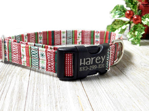 Holiday Christmas Dog Collar