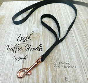 Add-on Leash Traffic Handle -Leash sold Separately